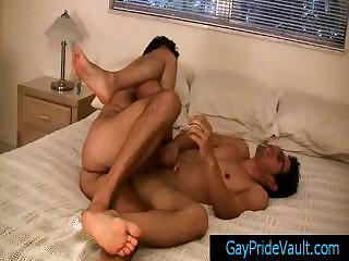 Twink receives rectal hole rimmed and fingered part3