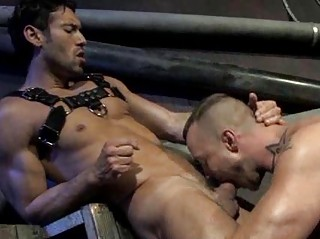 Gracious Muscled Fellows Coarse Anal drilling And Fucking