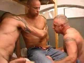 3 hot fellows in prison
