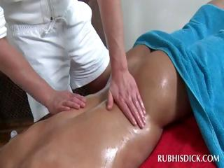 Oil body massage with hot homosexuals