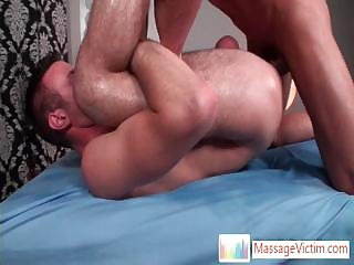 Matthew getting his balls massaged and chocolate hole screwed By OhThatsBig