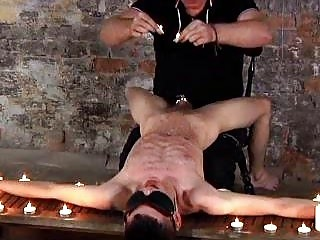 Skinny Twink Aaron Aurora Punished By Fetish DILF