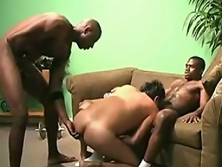 L.J., Ok, in this scene we have 2 black males who are working out in...