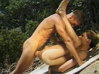 Angry sex ramrods engulfing every others hard cocks during the time that on a picnic in...