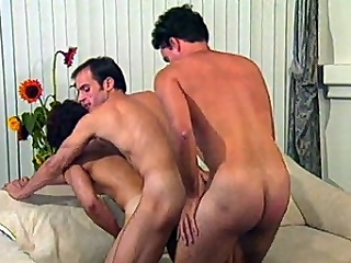 This homo group sex movie starts with Morgan Allen and Dino Phillips...