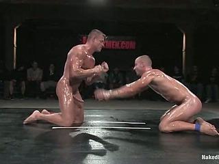 Patrick Rouge vs Tyler SaintThe Live Audience & Oil Match