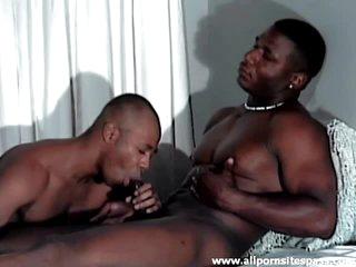 Brawny black chaps hardcore fucking