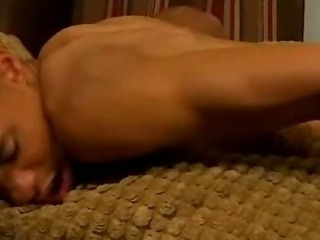 2 hot tanned twinks share hot anal arse act