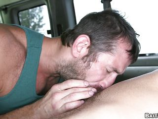 This inexperienced idiot desires a love tunnel and a wonderful large couple of tits. Instead that man receives a rock hard pecker and bulging pecs. That man thinks a golden-haired milf is going to suck his dick, but he's blindfolded and the switch is made. That man ends up having his First gay experience. He's tricked into being a fag.