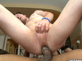 Face aperture of that guy will be filled with a bewitching dark semen