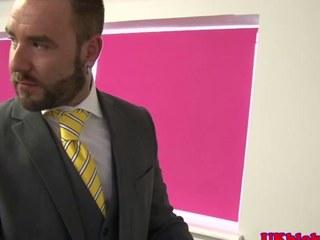 Brit office muscle bear